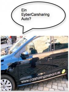 Eyber Carsharing Auto